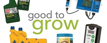 Good to Grow: Powdered and Liquid Nutrients, Grow Room Controllers, and Disease Control Solutions