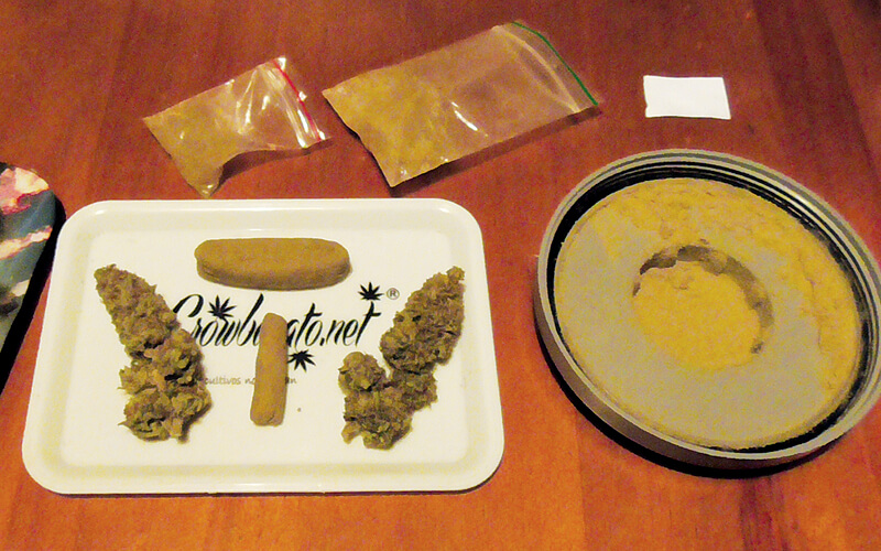 Hash, also called hashish, refers to substances made from the kief of the cannabis plant.