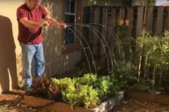 How to Turn a Raised Garden Bed Into a Greenhouse
