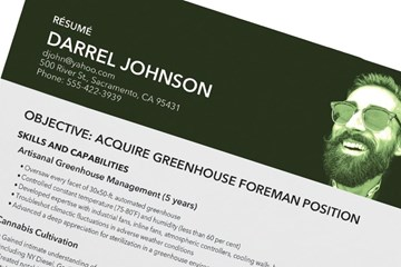 Experienced Growers Need Only Apply: Translating Your Personal Cannabis Growing into Resume Format