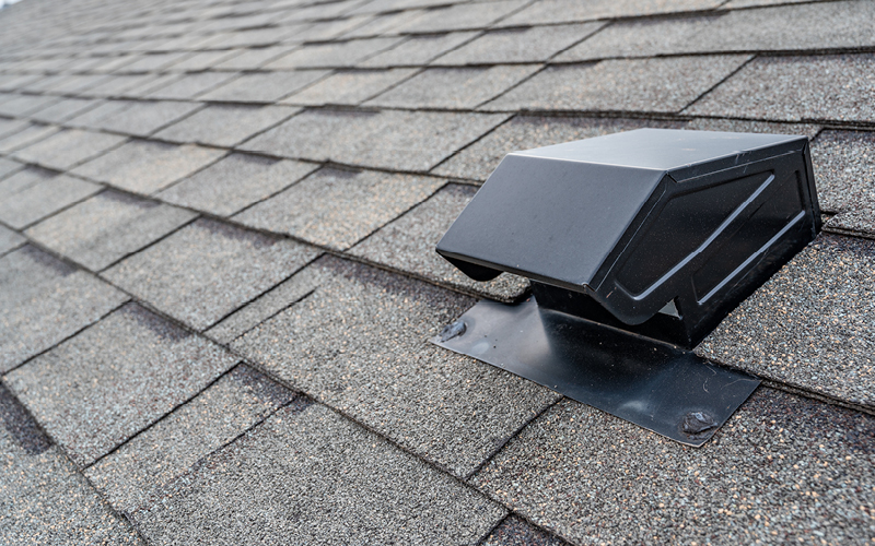 passive vent on roof
