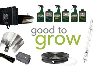 Good to Grow: Grow Light Kits, Pest Control Options, and a Hydro-Dolly