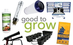Good to Grow: Hydroponic Equipment, Expanded Clay, Carbon Filters, and More