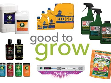 Good to Grow: Nutrients, Pest Control, and LEDs