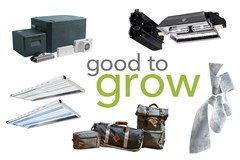 Good to Grow: Plant Paper, Aeroponic Kits, LEDs, and Odor Protection Bags