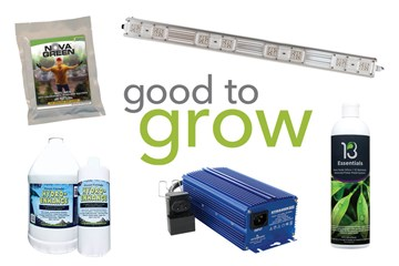Good to Grow: Fertilizers, Grow Lights, and Soil Mixes