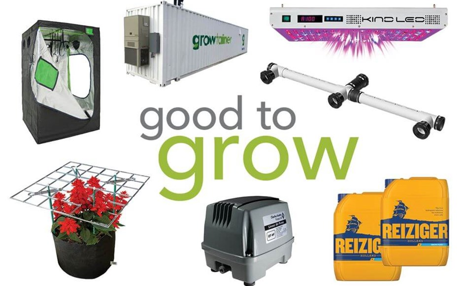 Good to Grow: Trellis Kits, Plant Food, LEDs, Grow Tents, and Air Pumps