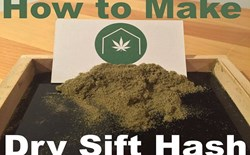 How to Make Rosin and Dry Sift Out of Your Home-Grown Bud and Trim