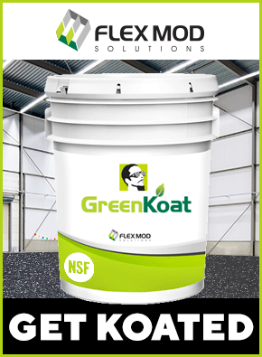 Flex Mod GreenKoat Grow Room Flooring