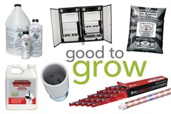 Good to Grow: Rooting Compounds, Lighting Accessories, Grow Cabinets, and More