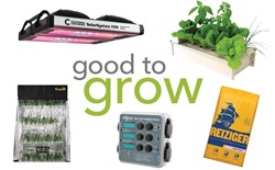 Good to Grow: Drying Tents, Salad Boxes, Controllers, and LED Systems
