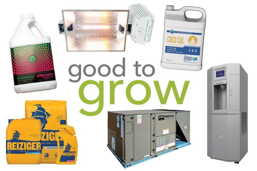 Good to Grow: Nutrients, Water Generators, Lighting, and More