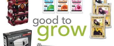 Good to Grow: Ballasts, Coco Coir, Odor-Proof Bags, and Fertilizers