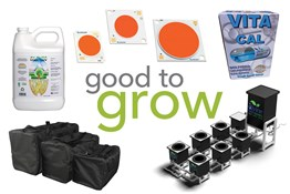 Good to Grow: LED Grow Lights, Hydroponic Bucket Systems, and Calcium Additives