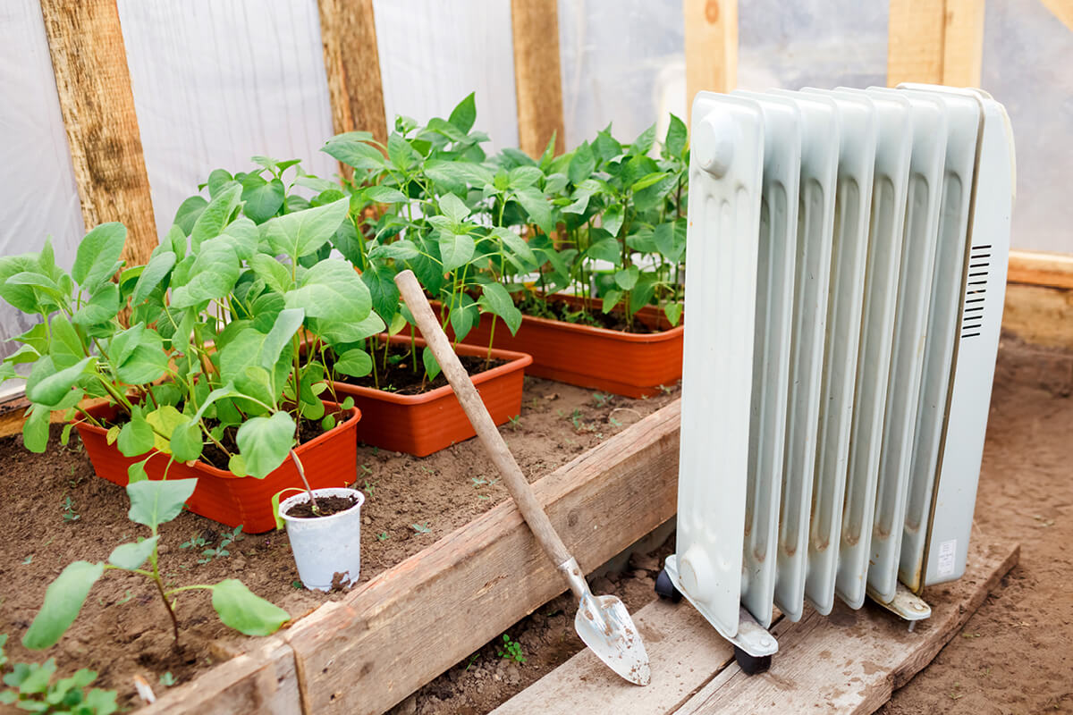 Greenhouse Heater Temperature Control