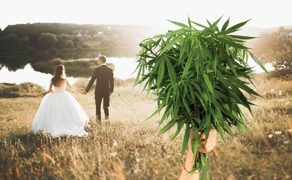 Cannabis Themed Weddings Are on the Rise