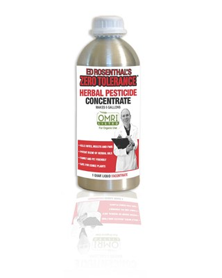 Ed Rosenthal's Zero Tolerance Herbal Concentrate Pesticide