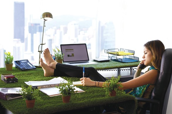 How Office Workers Can Benefit from Having a Garden On Site
