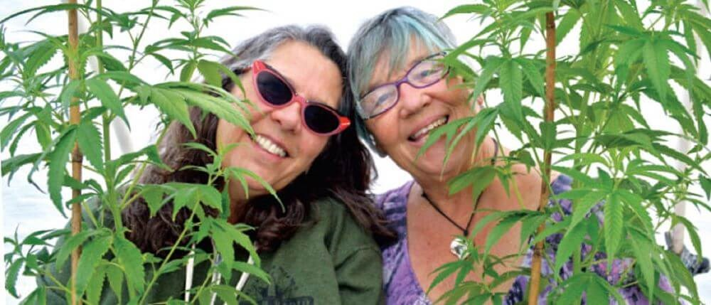 Pearl and Joyce are The Bud Sisters of Southern Humboldt