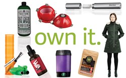 Own It: Dab Containers, Silicon Water Pipes, One-Hitters, and a Decarboxylator