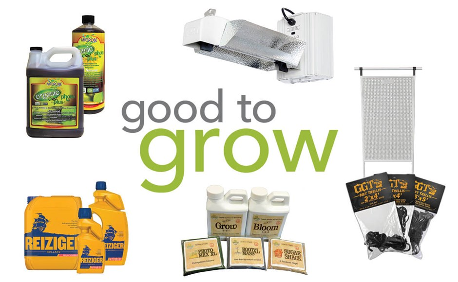 Good to Grow: Grow Tent Accessories, Liquid Fertilizers, and Bloom Boosters
