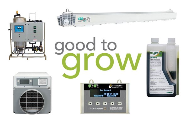 Good to Grow: Humidity Control, Lighting Systems, and Ozone Generators