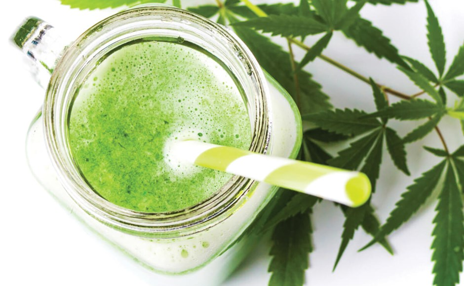 cannabis juicing