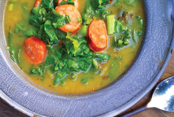 Cooking with Cannabis: Cannabis Caldo Verde