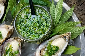 Cooking with Cannabis: Oysters in the Nude with Angry Water