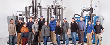 Teams from Pope Scientific Inc's engineering, sales & marketing, manufacturing, and QA.
