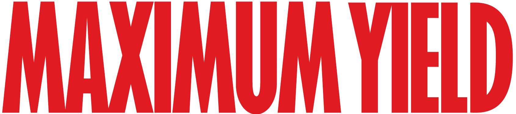 Maximum Yield Logo